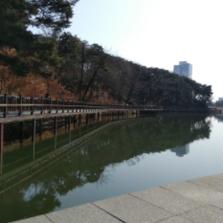 남편과 광교호수공원 산책