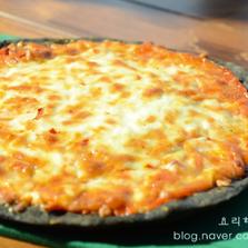 호떡믹스로 피자만들기
