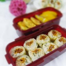 양배추말이밥 도시락
