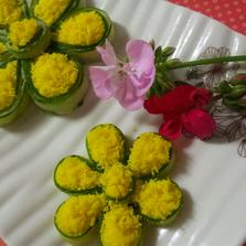 감자에 꽃이 피었어요~